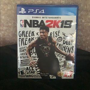 NBA 2K19 game